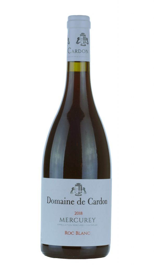 DOMAINE DE CARDON MERCUREY «ROC BLANC» – ROUGE